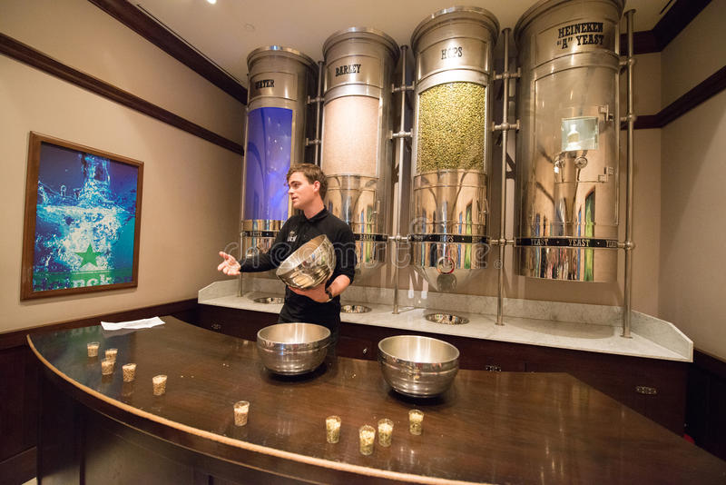 Brasserie de Heineken images stock