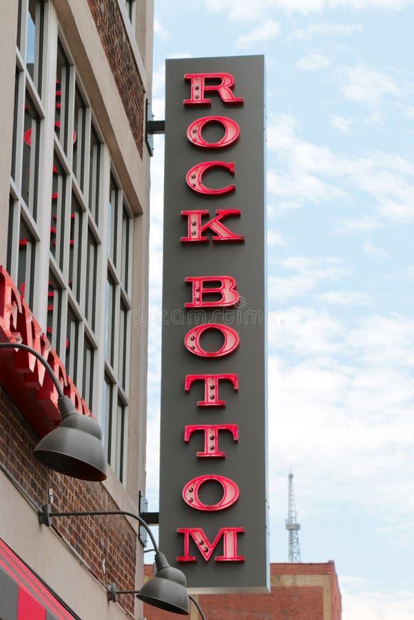 Brasserie du fin fond et Resturant, Nashville du centre Tennessee images libres de droits