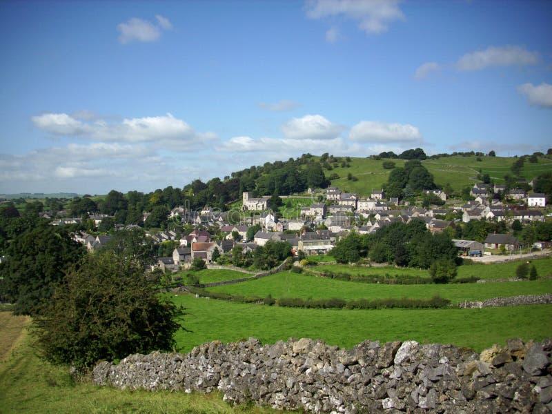 Brassington wioska, Derbyshire zdjęcia stock