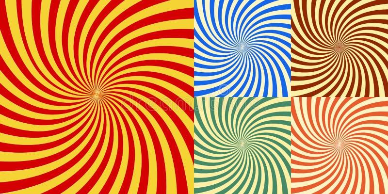 Brast abstrakt bakgrund för vektorn av stjärnan eps 10 royaltyfri illustrationer