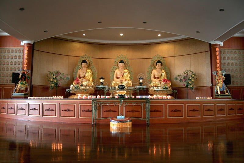 brastagi寺庙 库存图片