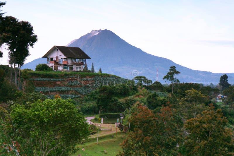 brastagi Индонесия стоковые фотографии rf