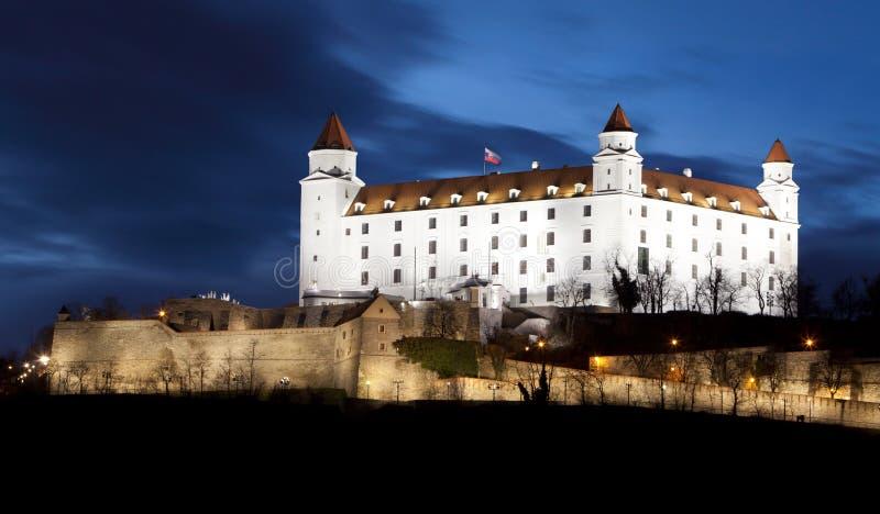 Brastilava castle stock image