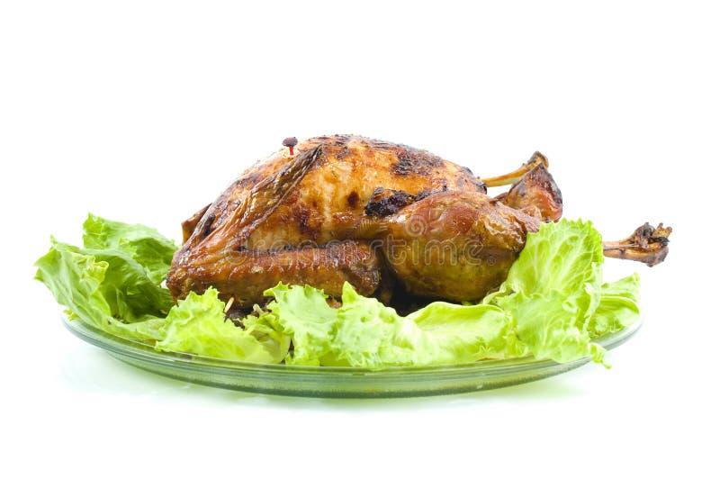 Braten die Türkei stockbild