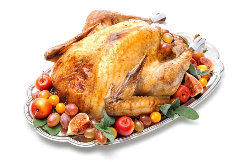 Braten die Türkei stockbilder