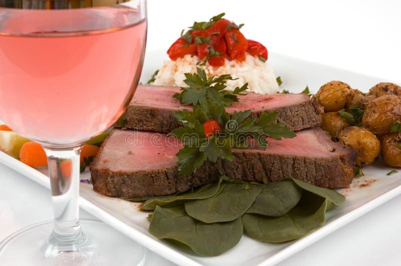 Braten-Rindfleisch lizenzfreies stockfoto