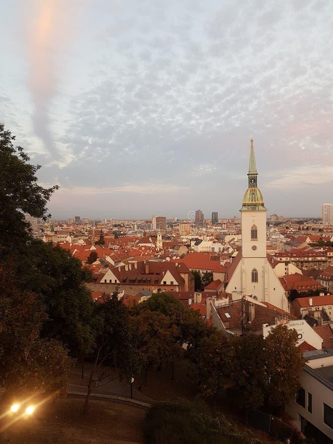 bratislava lizenzfreies stockfoto