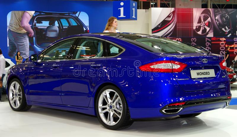 BRATISLAVA - APRIL 8: Motor Show, the biggest car event of the year in Slovakia stock photos