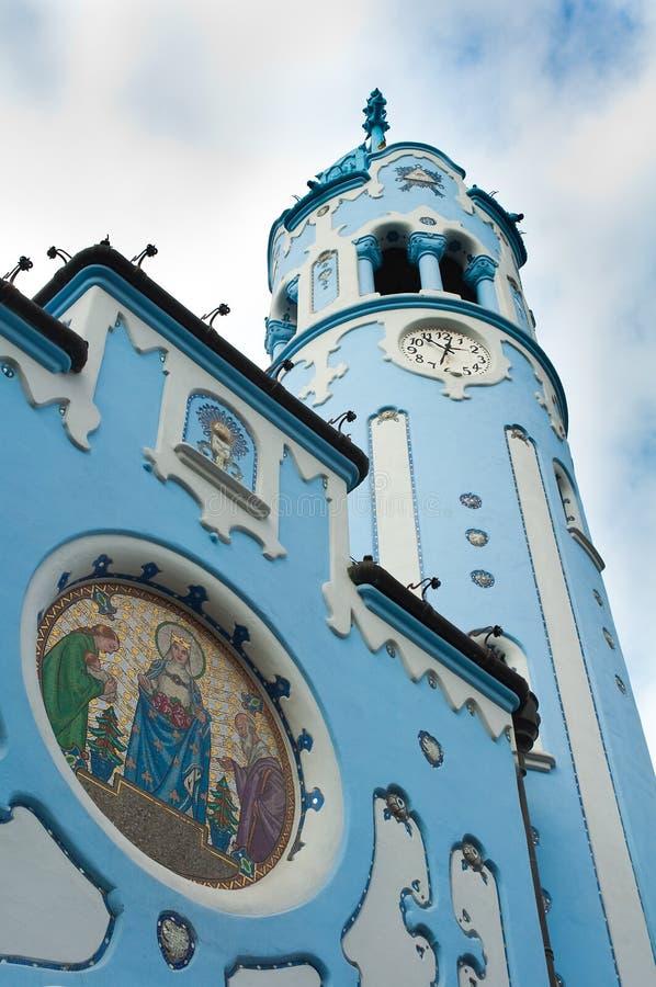 bratislava błękitny kościół obraz royalty free