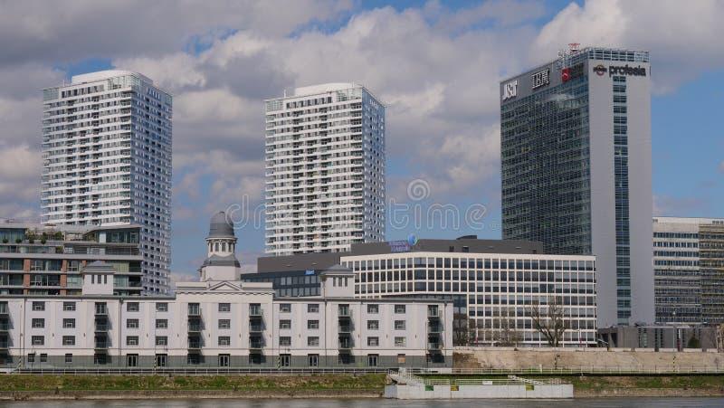 Bratislava buildings, Slovakia stock photos