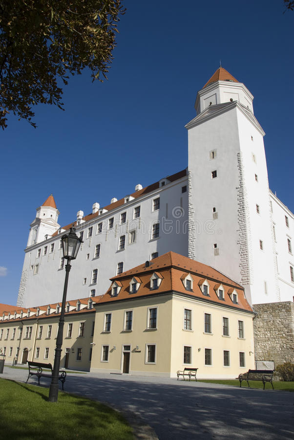 Download Bratislava castle stock image. Image of wall, vacation - 18656559
