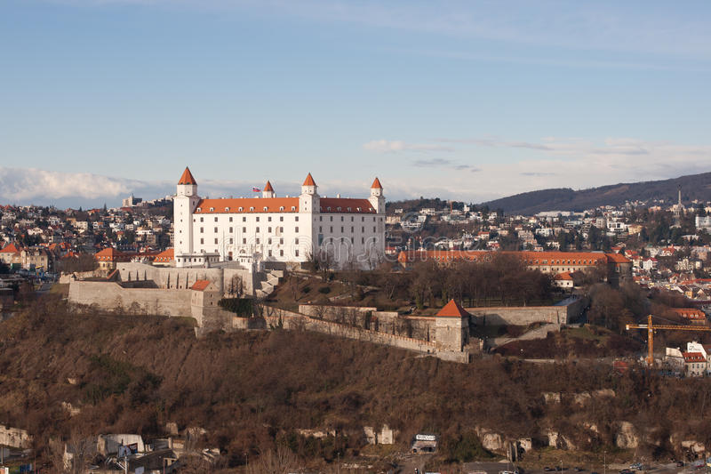 Bratislava Castle stock photography
