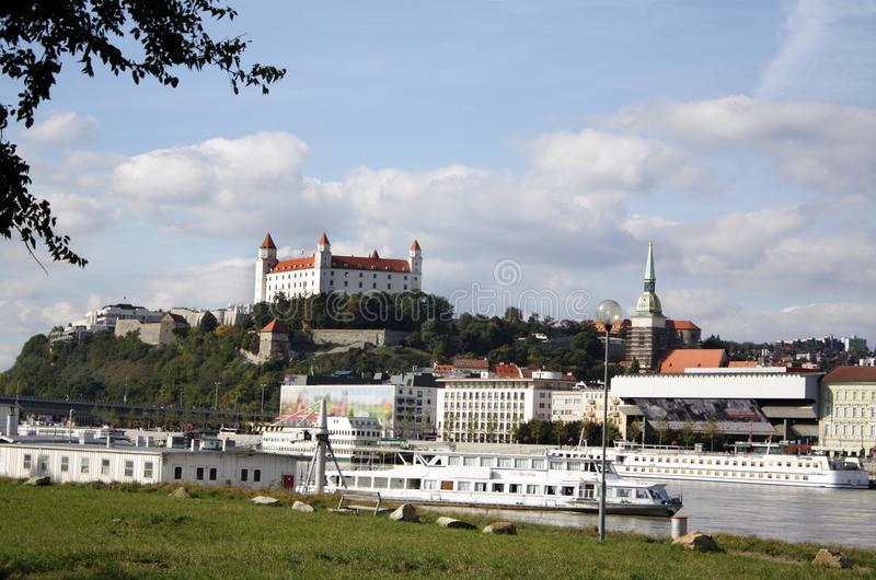 Download Bratislava castle stock photo. Image of fort, historical - 26576394
