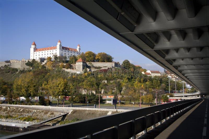 Download Bratislava - Castle And Bridge Stock Image - Image: 11663199