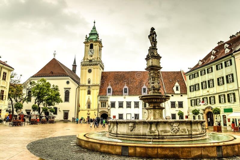 Bratislava city, Slovakia royalty free stock photos