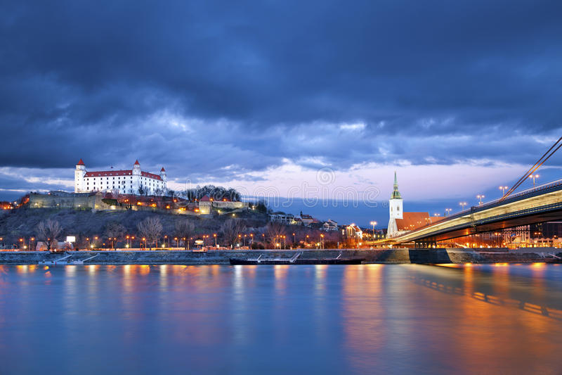 Bratislava, Eslovaquia. imagen de archivo libre de regalías