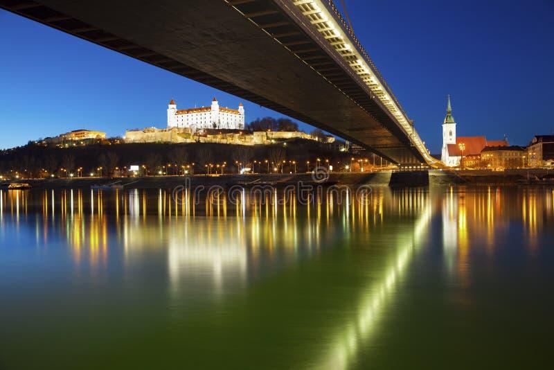 Bratislava, Eslovaquia. imagen de archivo