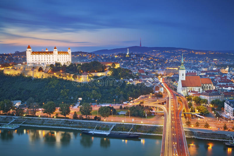 Bratislava, Eslovaquia fotografía de archivo