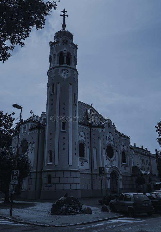 Bratislava gata Slovakien royaltyfri foto