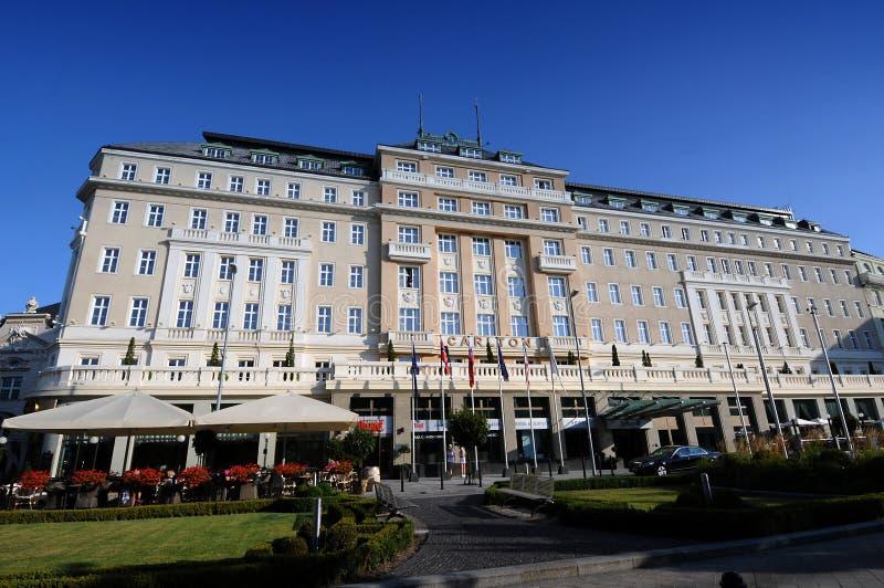 Bratislava hotel Carlton. Luxurious SAS Radisson Carlton hotel in Bratislava (Slovakia royalty free stock photography