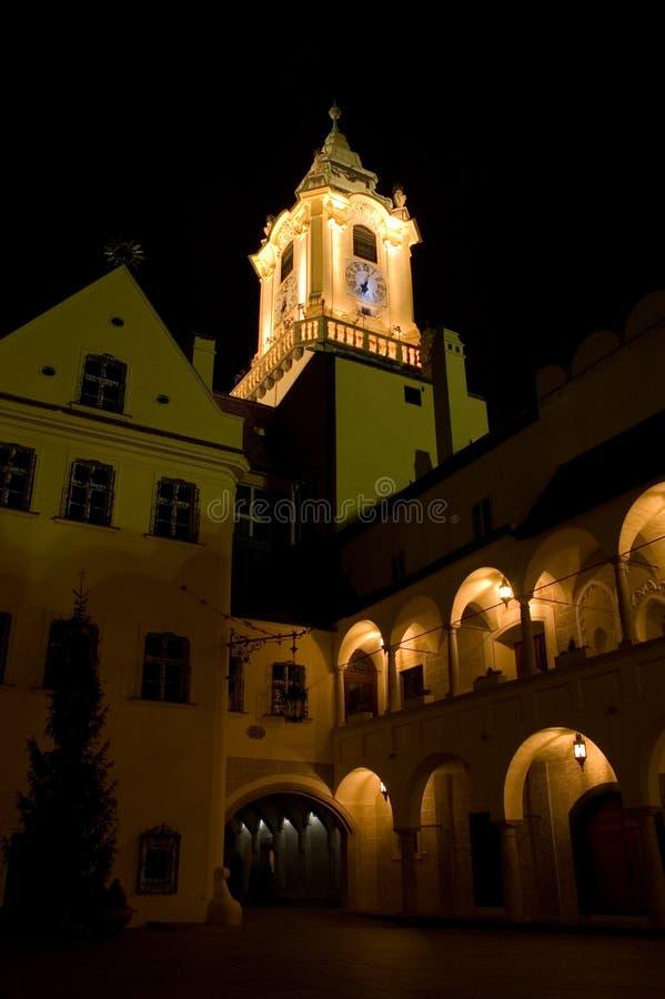 Free Bratislava In The Night Stock Photography - 3211902