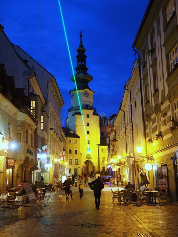 Bratislava jest politycznym, kulturalnym i ekonomicznym centre Sistani, zdjęcia stock