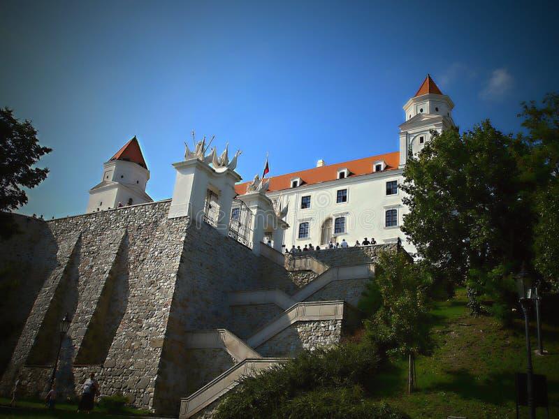 Bratislava jest politycznym, kulturalnym i ekonomicznym centre Sistani, obraz royalty free