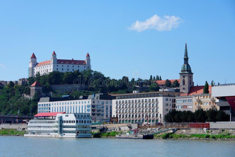Bratislava - landmarks stock image