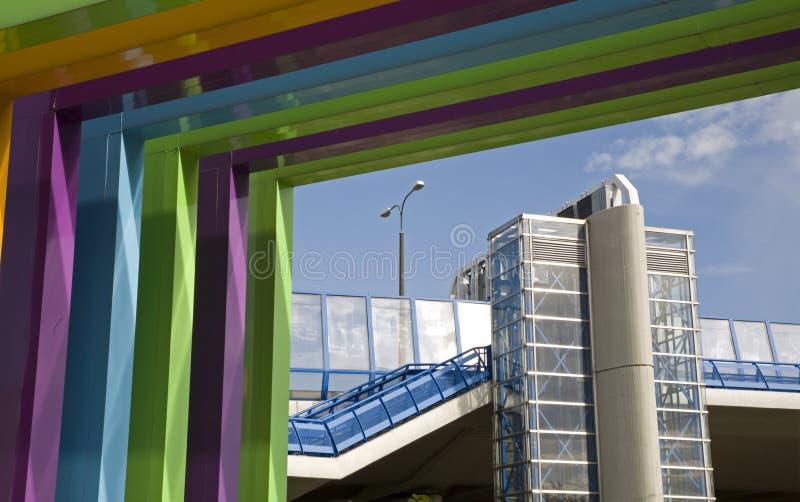 Download Bratislava - Modern Gate And  Apollo Bridge Stock Photo - Image: 20935900