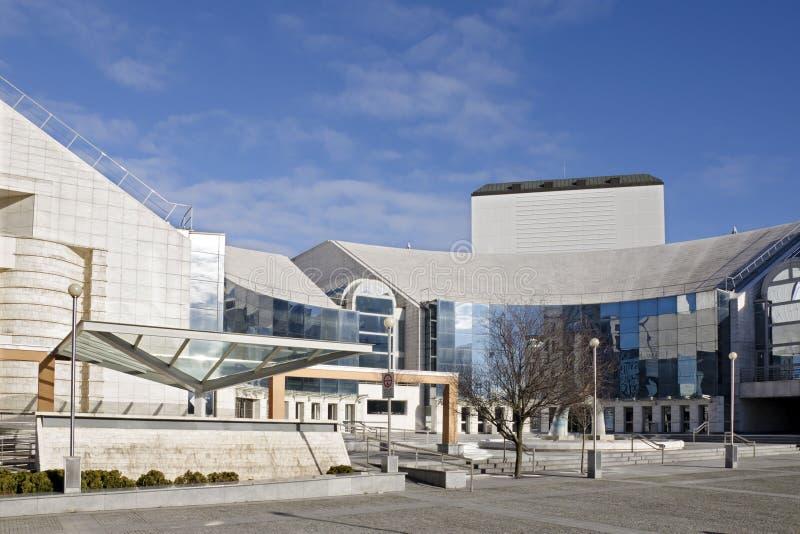 Bratislava, o teatro novo imagem de stock