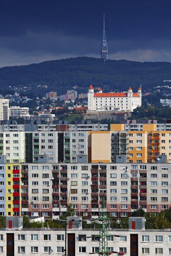 Bratislava-Petrzalka stockfoto