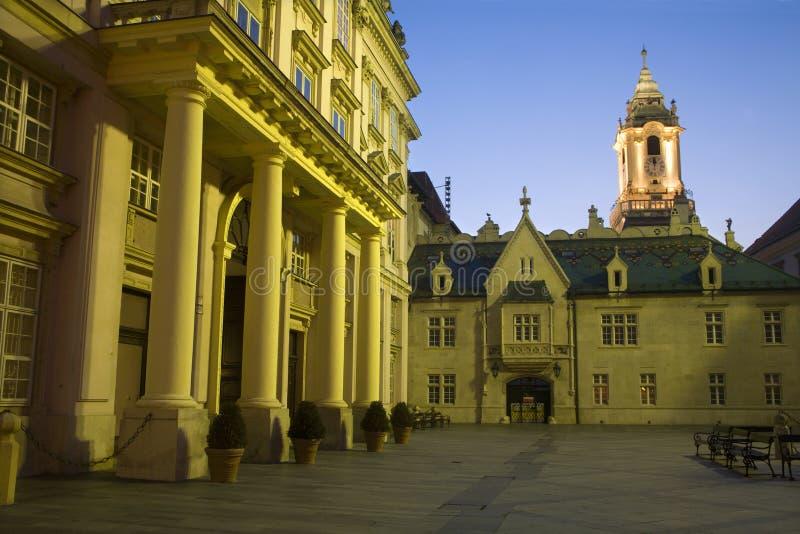 bratislava sala pałac primacial miasteczko zdjęcia royalty free