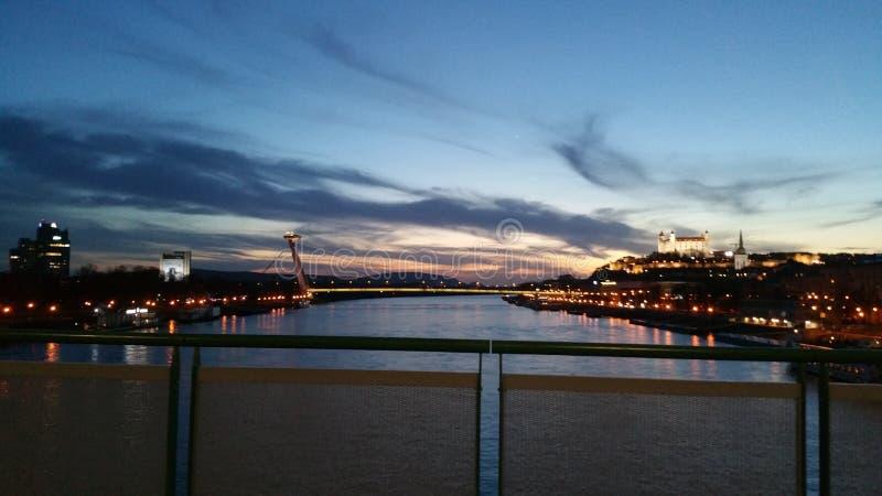Bratislava Slovacchia fotografie stock