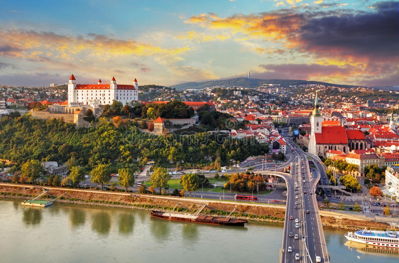 Bratislava, Slovaquie image libre de droits