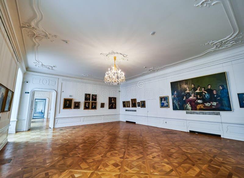BRATISLAVA, SLOVAQUIE - 1ER SEPTEMBRE 2017 Château de Bratislava Hrad/musée national d'histoire, Bratislava, Slovaquie images libres de droits