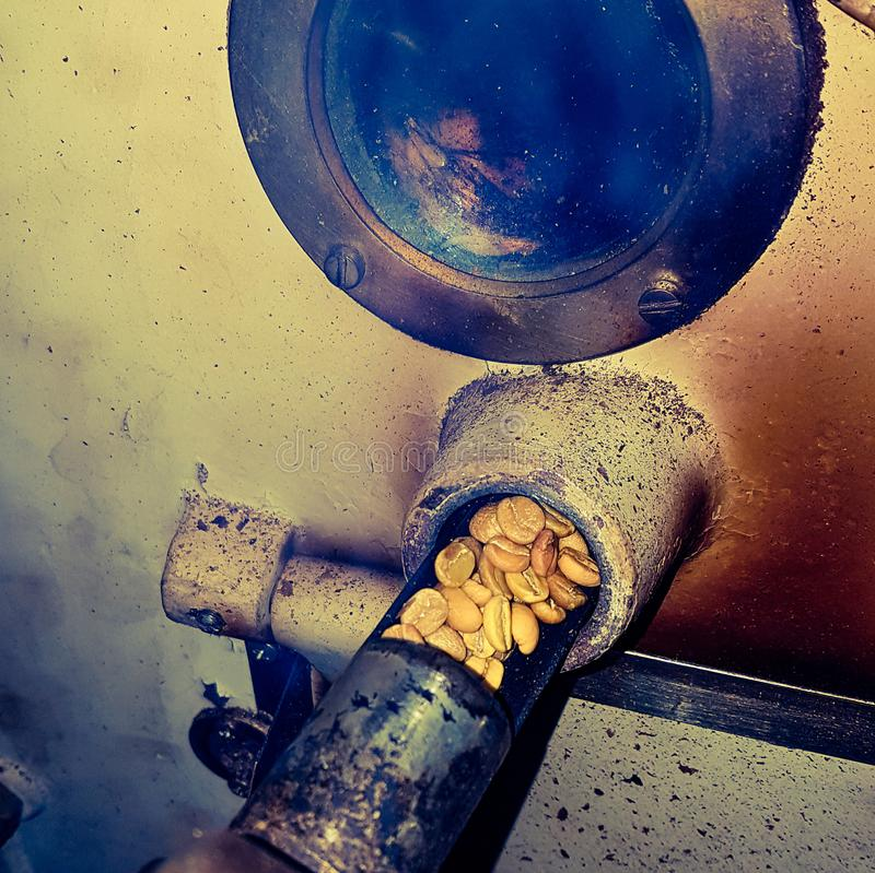 Bratkaffee lizenzfreie stockfotografie
