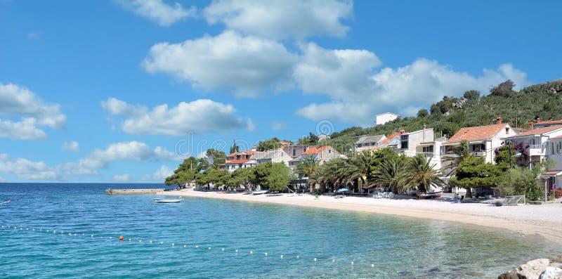 Bratus, Makarska la Riviera, Mer Adriatique, Croatie images libres de droits