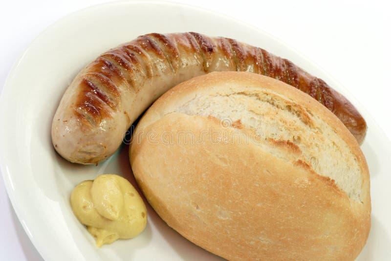 Bratwurst Royalty Free Stock Image