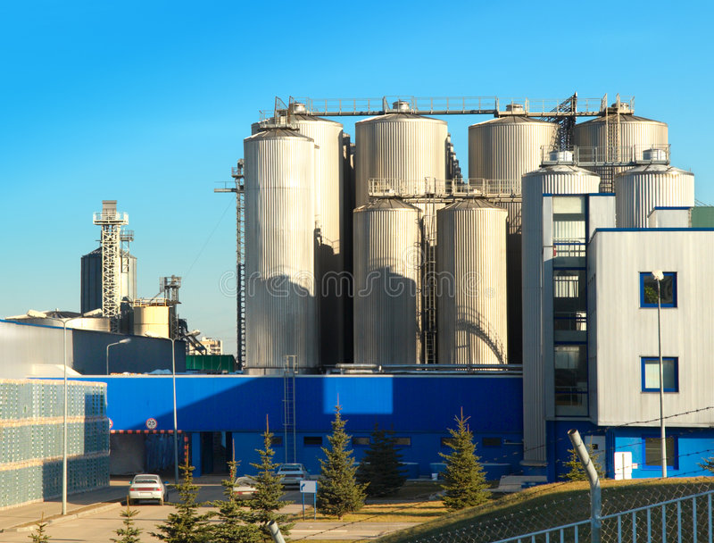 Brauerei lizenzfreies stockfoto