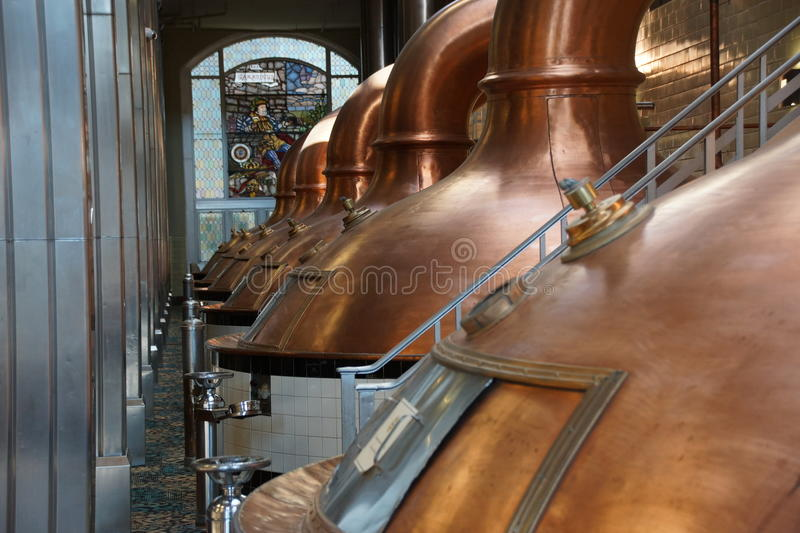 Brauerei Milwaukee stockbild