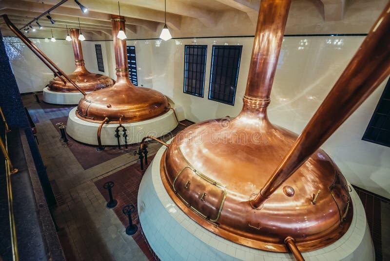 Brauerei in Pilsen lizenzfreies stockfoto
