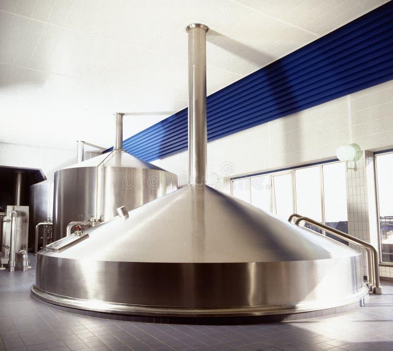 Brauereiwerkstatt stockbild