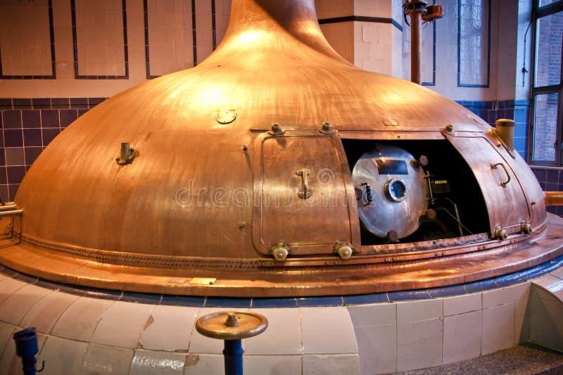 Brauereiwerkstatt stockfoto