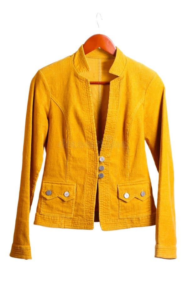 Braune Jacke der Frauen lizenzfreie stockbilder