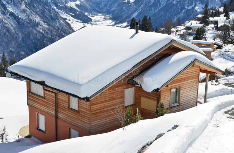braunwald Швейцария стоковые фото