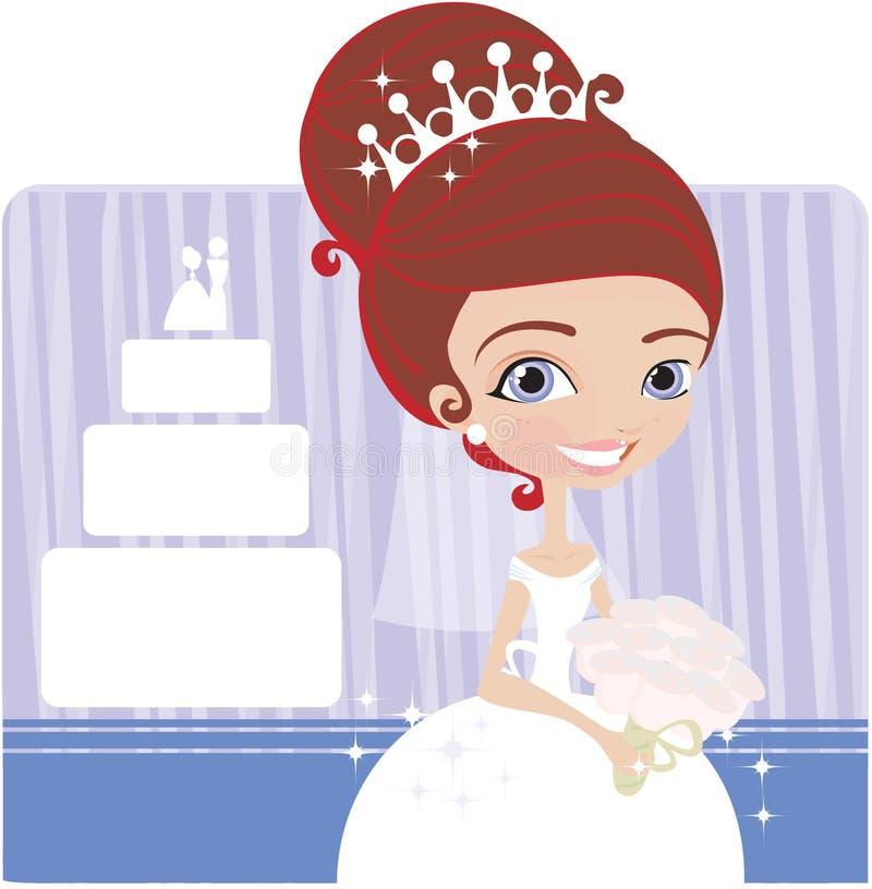 Braut stock abbildung