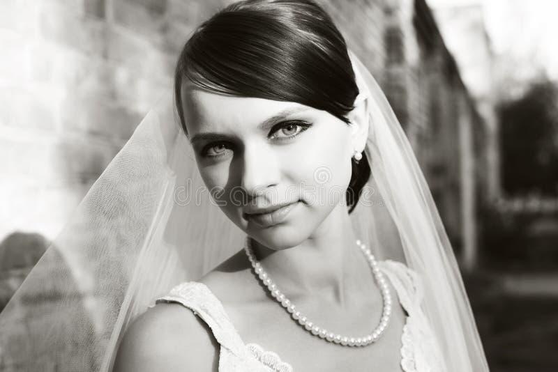 Download Braut stockfoto. Bild von braut, portrait, mädchen, lächeln - 26373536
