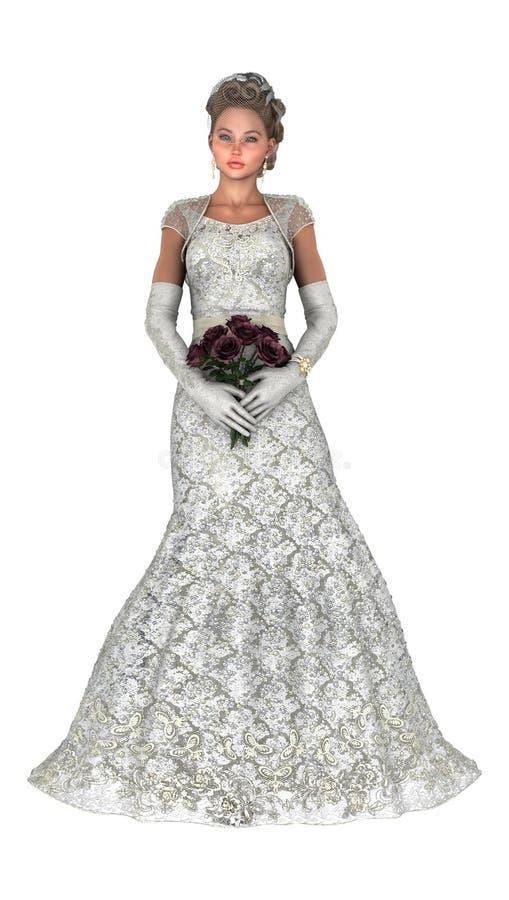 Braut vektor abbildung
