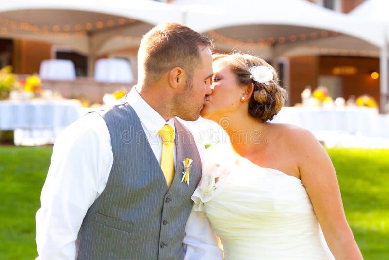 Braut-Bräutigam Wedding Day stockfotografie