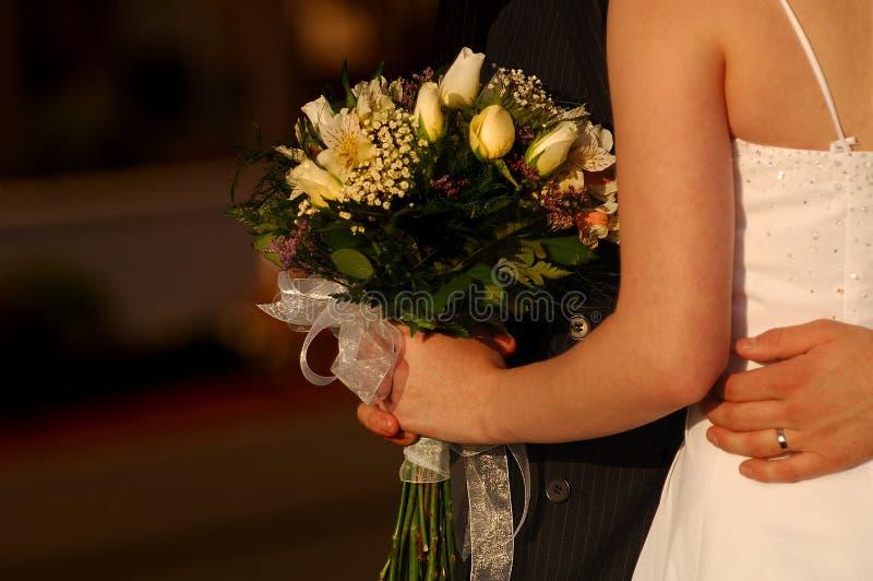 Braut und Bräutigam 3 lizenzfreie stockfotografie